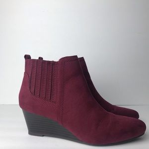 Just fab Everley booties size 7.